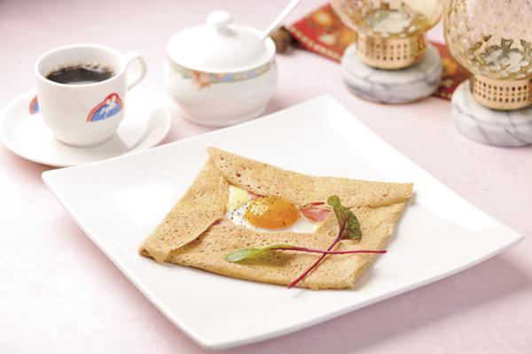 朝食ガレット