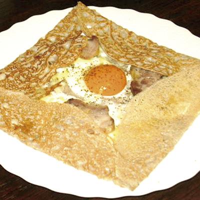 朝食の「コンプレート」